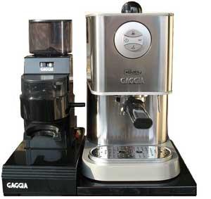 La Gondola - Coffee Machines Gaggia Set